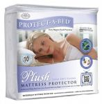 Double (135 x 190cm) - Protect A Bed - Plush - Mattress Protector